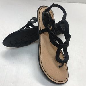 B.O.C. Born Thong Black Sandals